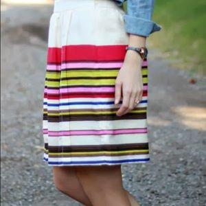 Ann Taylor LOFT Aloha Stripe Print Skirt